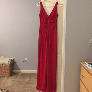 Laundry Long Red Dress